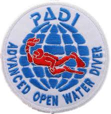 PADI Advanced Open Water Diver Badge